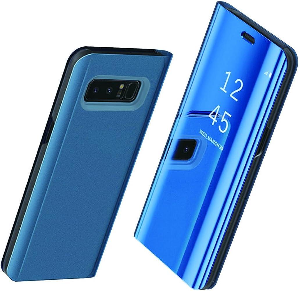 Teryei Funda compatible with Galaxy S8 / Galaxy S8 Plus/Note 8, PC Hard Case [Ultra Slim] Full protección Rasguño y Resistente Anti-Estático Choque Espejo (Azul, Galaxy S8 Plus): Amazon.es: Ropa y accesorios