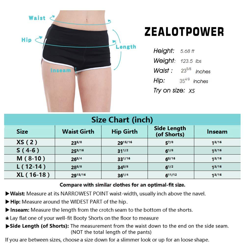 Amazon.com: ZEALOTPOWER - Pantalones cortos para mujer ...