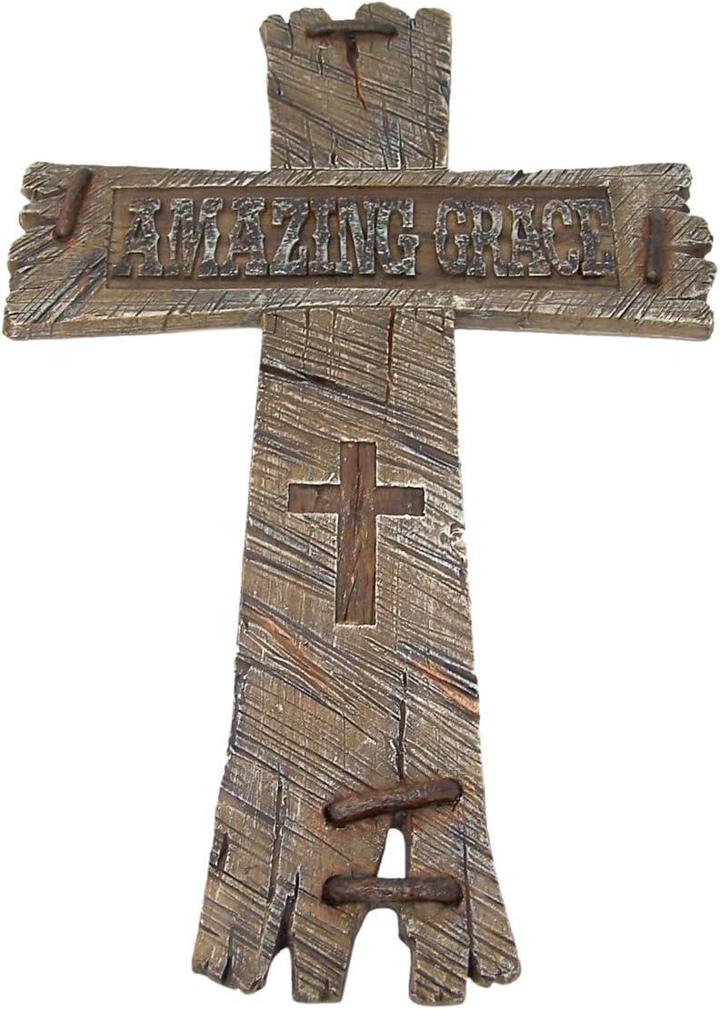 Wooden Wall Cross zum Ihres Altars zu schmieren Gebranntes Endwand dekor storeindya Geschenke H/ölzernes Wand-Kreuz rustikales Keltisches Jesus Kreuz christliches katholisches religi/öses
