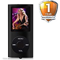 Outbolt Mini MP4 Player with Rich Sound, FM, E-Book Reader and MP3 Player Support for Realme U1, OnePlus 6T, Honor 8X, Redmi 6 Pro, iPhone X & All Other Smartphones