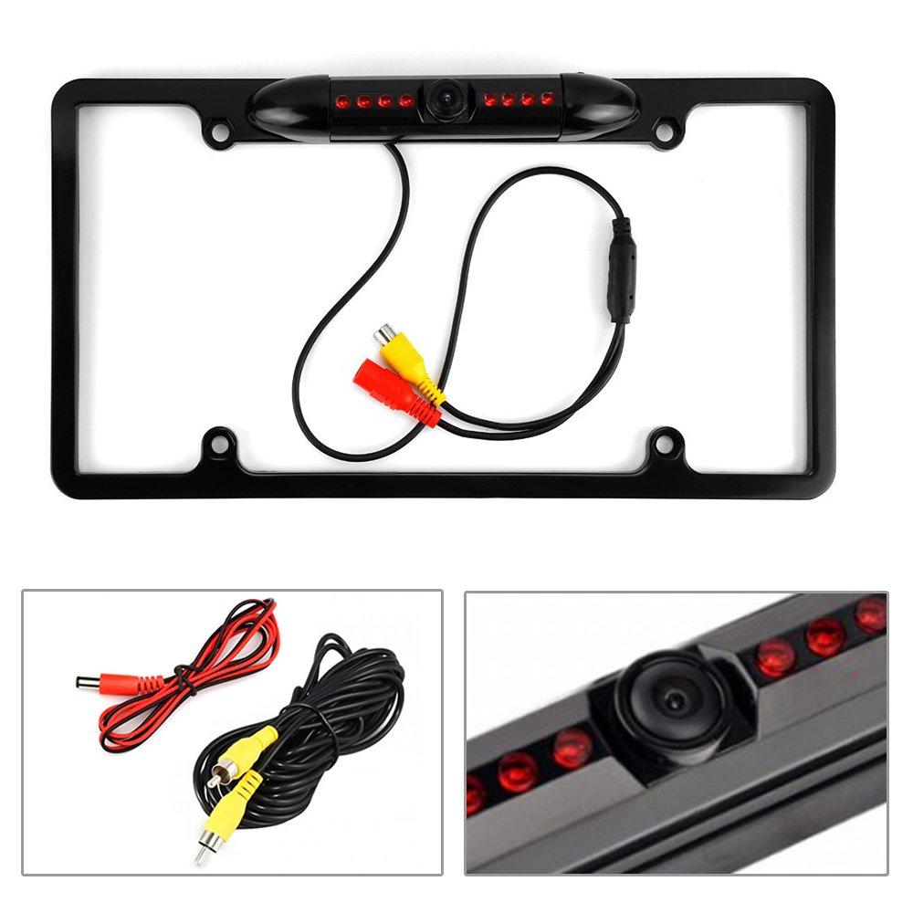 Toyota Camry 2007 2011 Car Stereo Radio Cd Player Dash Mirror Wiring Harness 1987 Up Installation Mounting Kit Mount Trim Rearview Camera Electronics