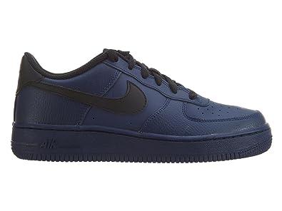 nike air force 1 binario blu / nero (ragazzo) basket