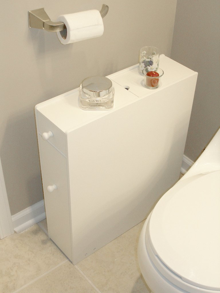Proman Products Bathroom Floor Cabinet Wood in Pure White by Proman Products (Image #12)