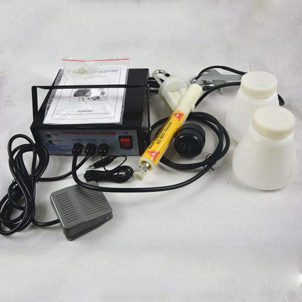 ROMYIX Syst/ème de rev/êtement en poudre PC03-5 pistolet /à poudre de peinture 3,3 W 0,03 A pistolet de rev/êtement en poudre dispositif de rev/êtement en poudre