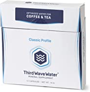 Third Wave Water New Packaging Mineral Enhanced Flavor Optimizing Coffee Brewing Water, Classic Flavor Profile, 0.635oz