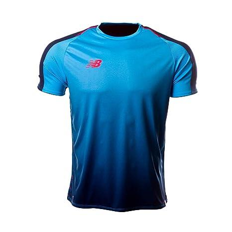 New Balance Elite Tech m/c, Camiseta, Azul: Amazon.es: Deportes y aire libre