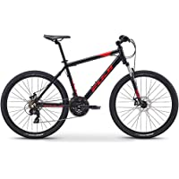 Fuji Unisex Adult Adventure 27.5 Mountain/Sports Bike - Black, 17 Inches