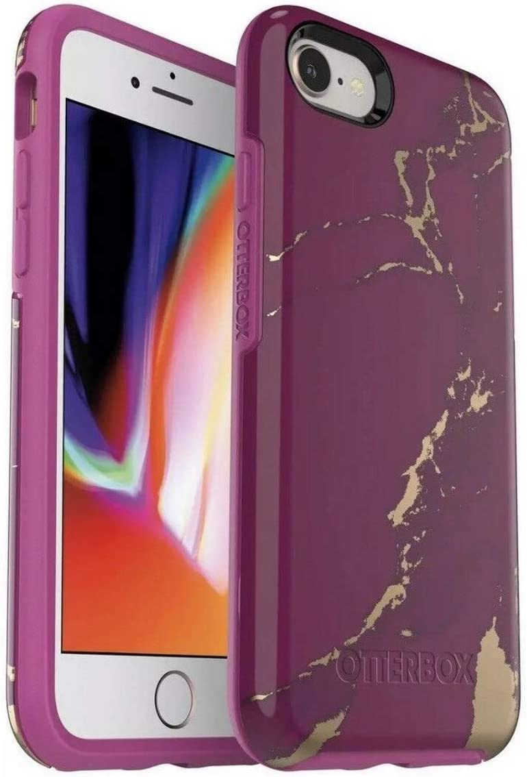 OtterBox Symmetry Series Case for iPhone 6 Plus & iPhone 6S Plus - Bulk Packaging - Purple Marble