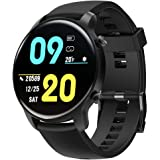 Smart Watch for Women Men, Tinwoo T21WL Support Wireless Charging, Activity Tracker with Heart Rate Monitor, 5ATM Waterproof