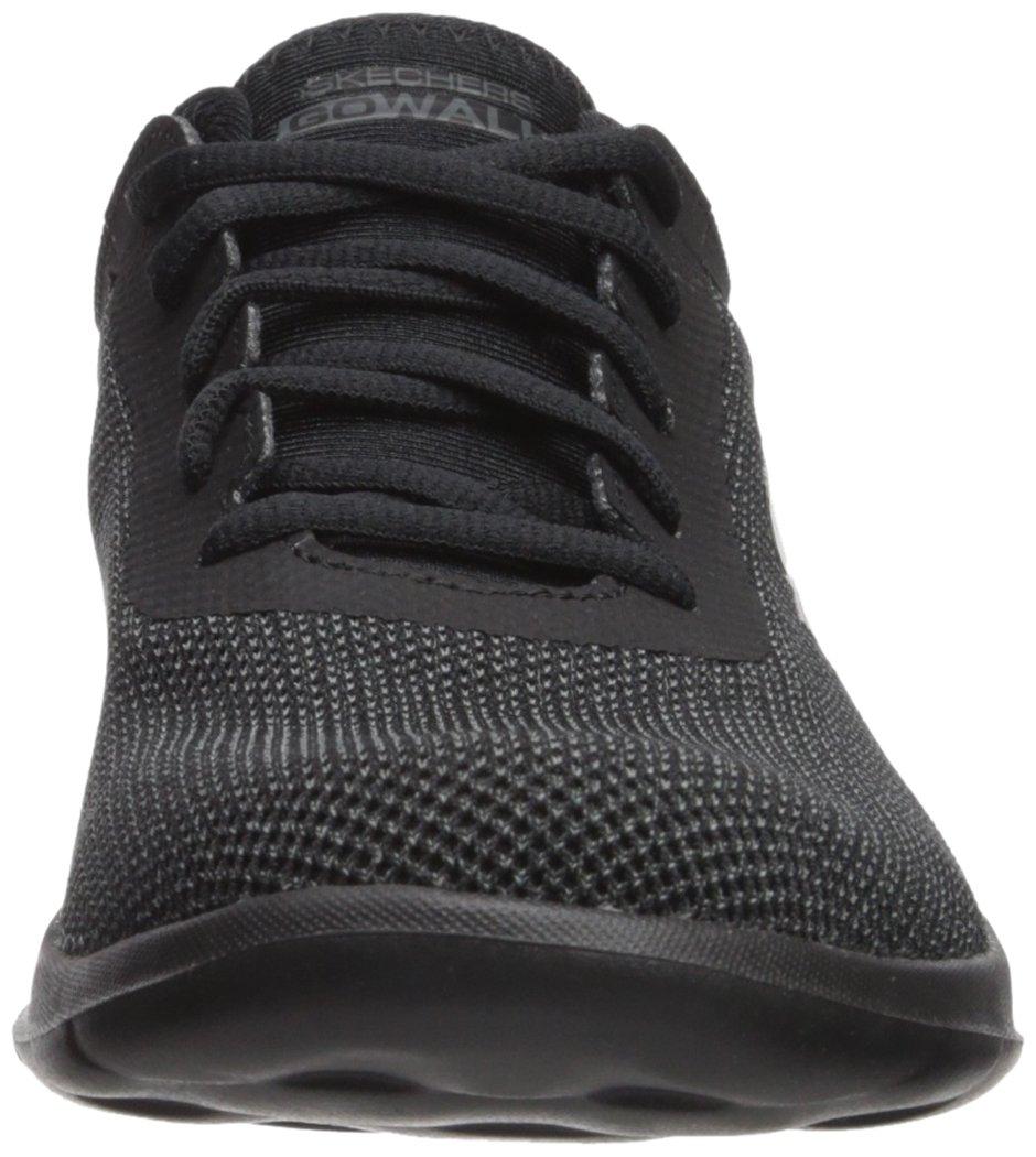 Skechers Women's Go Walk Lite-15360 Sneaker B071GVGSRZ 10 B(M) US|Black