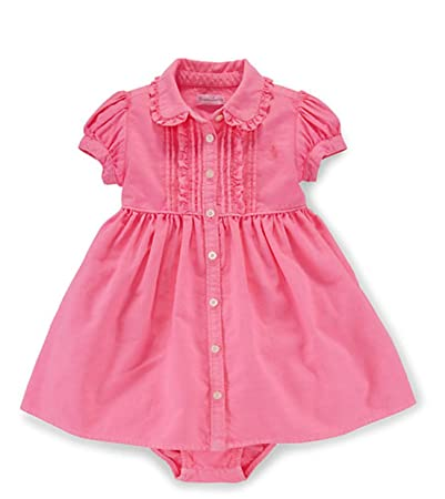 eb71e3b34219 Image Unavailable. Image not available for. Color: Ralph Lauren Baby Girls  Ruffled ...