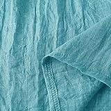 Men's Cotton-Linen Tops, Summer Pure Long Sleeved
