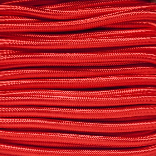 "Made in USA Choose from 10 25 50 and 100 Feet Paracord Planet 1//4/"" Elastic Cord Crafting Stretch String with Various Colors"