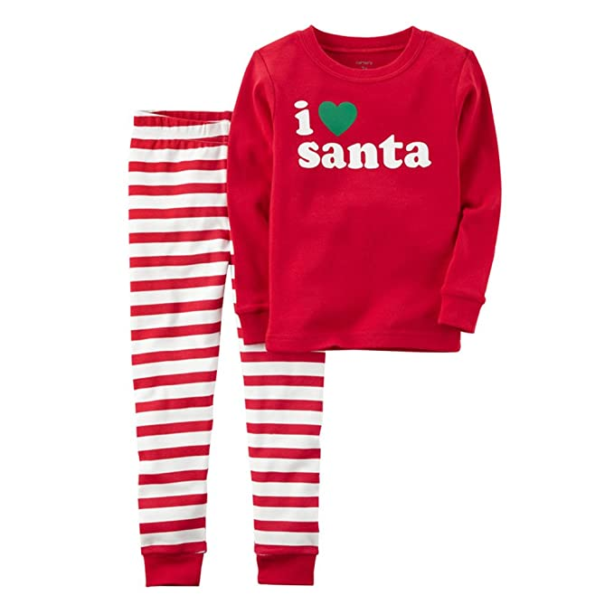 0984e7c60819 Kids Christmas Clothing Set - Cotton Long Sleeves Top + Pant Pajamas ...