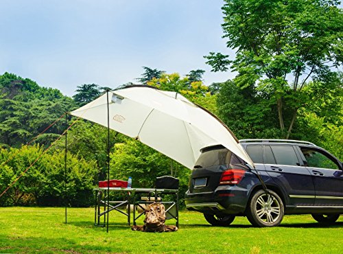 Price comparison product image Timber Ridge Car Canopy Family Trailer Outdoor Tent for Beach Camping SUV 3-4 persons Sunshade