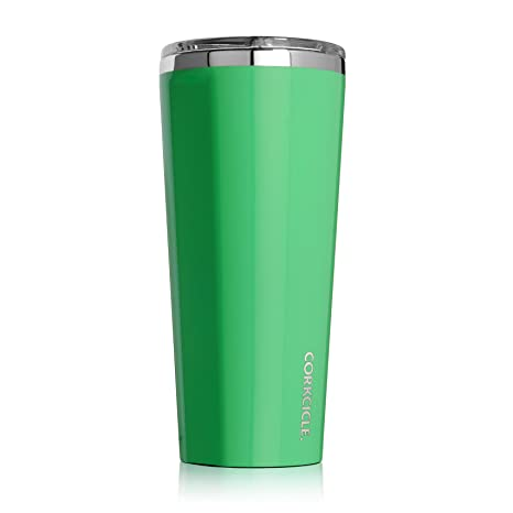 8b2b5c4f688 Amazon.com: Corkcicle C2124GCG coolest Tumbler-Classic Collection-Triple  Insulated Stainless Steel Travel Mug, 24 oz, Gloss Caribbean Green: Kitchen  & ...