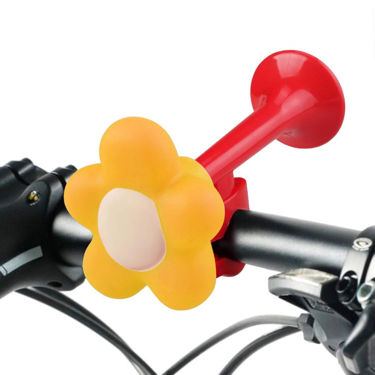 Enfants Traditionnel Vélo Cycle KLAXON SQUEEZE Bell Jaune