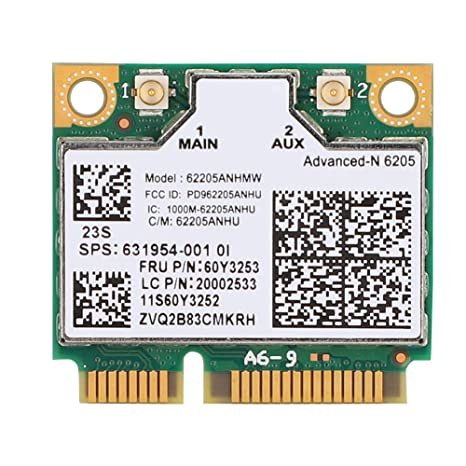 Amazon.com: ASHATA Mini PCI-E Network Card,300Mbps 2.4G/5G ...