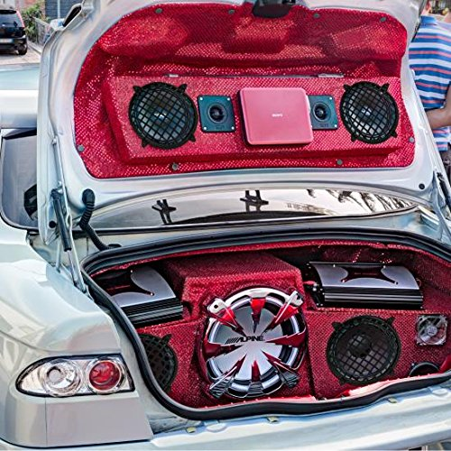 Pyramid GW5BK 5'' Speaker Grill Covers - Universal Car/Vehicle Speaker Protectors (Pair)