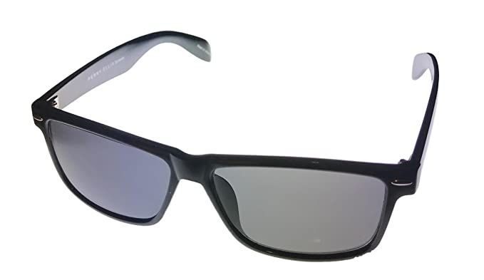 65dc22f6fd Image Unavailable. Image not available for. Colour  Perry Ellis Mens  Plastic Sunglasses Black ...
