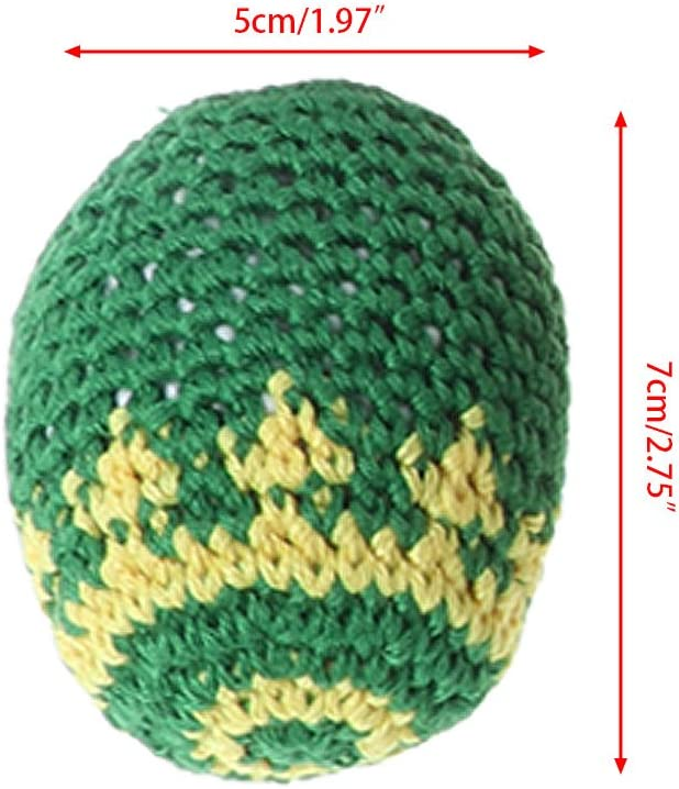 ZJL220 Handmade Sacks Footbag Toy Balls Magic Juggling Ball Kid Outdoor Toy Soft Ball Colore Casuale