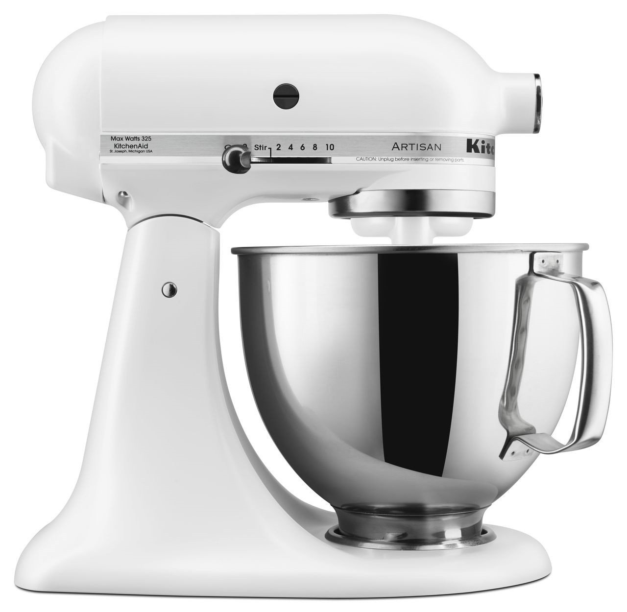 KitchenAid RRK150FW 5 Qt. Artisan Series - Matte White (Certified Refurbished)