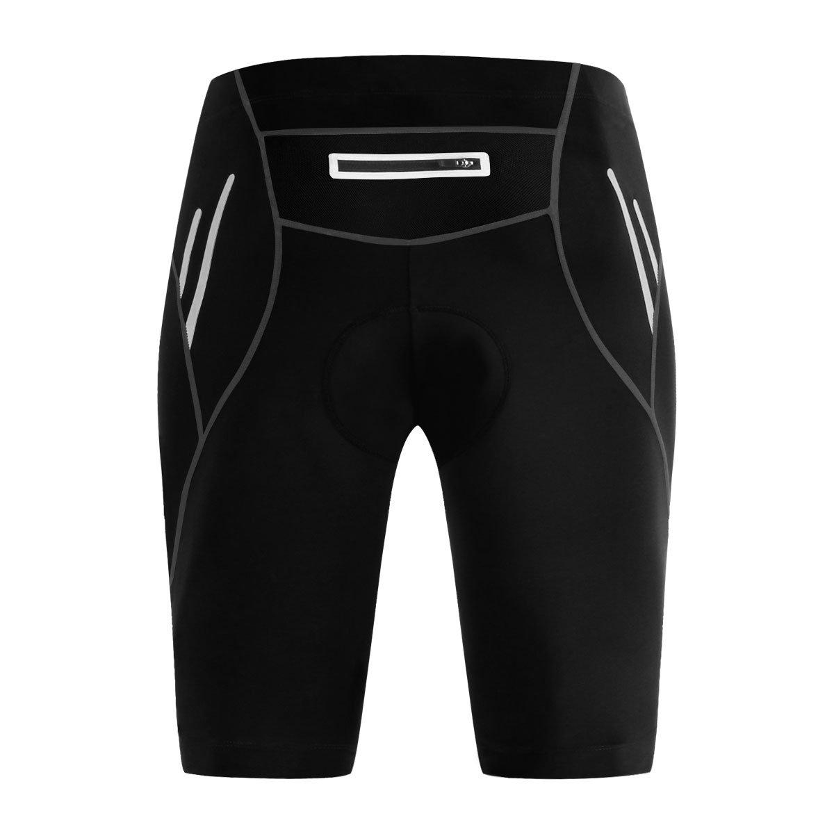 LiangyndaLian Männer Klettern Shorts Silikon Sitz Atmungsaktiv High Impact UV-Schutz Jersey Quick-dry Fahrradbekleidung