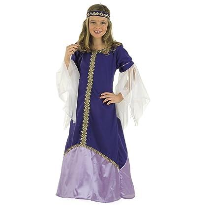 Limit Sport - Disfraz de reina medieval para niña (MI309 ...