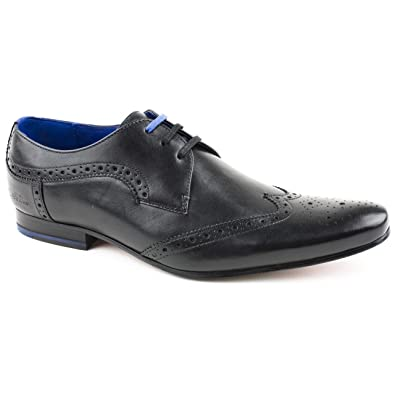 39061f6c1 Mens Ted Baker Hann Black Brogues Size 11  Amazon.co.uk  Shoes   Bags