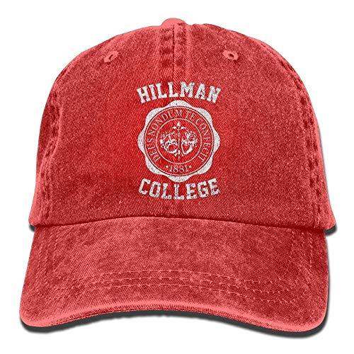 Jearvy Casual Hillman College Run Hillman College Adventure Hunting Hip-Hop Baseball Caps Snapbacks Fishing Hats