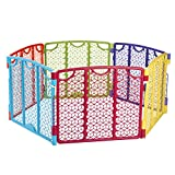 Best Pet Play Yards - Evenflo Versatile Play Space, Multi Color Review
