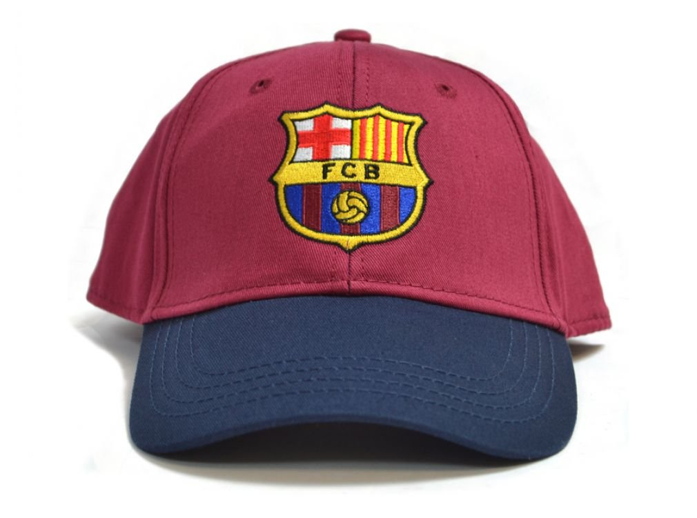 FCB FC Barcelona - Gorra de béisbol Contrast Color Granate: Amazon ...