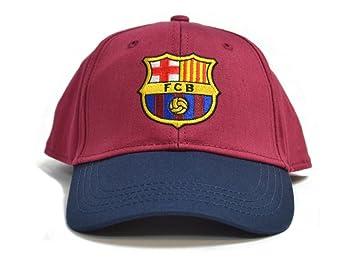 FCB FC Barcelona - Gorra de béisbol Contrast Color Granate: Amazon.es: Deportes y aire libre