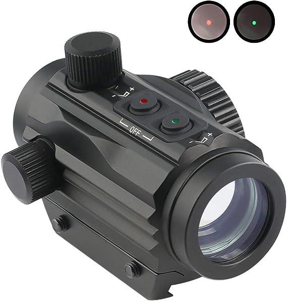 Twod 1x22mm 5 MOA Red Green Dot Sight