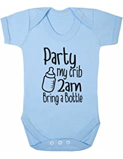 BabyGro Sleepsuit Boy//Girl//Unisex Party My Cot 2 AM