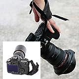 Andoer Correa para la muñeca de la PU Apretón de la mano Accesorios de Fotografía para Nikon Canon Sony Cámara