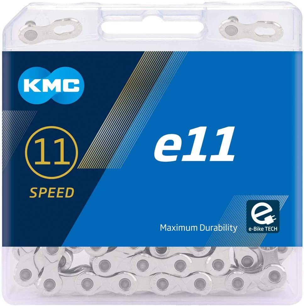 KMC E11 Cadena, Unisex Adulto, Plata, 122 Link: Amazon.es ...