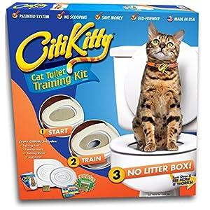 CitiKitty As Seen on Shark Tank Cat Toilet Training Kit 7