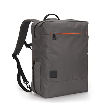 cb2dc7fb250 Image Unavailable. Image not available for. Color  Hynes Eagle Minimalist City  Backpack for Up to 15.6 inch Laptop Grey