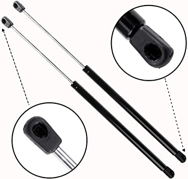2 Qty Rear Liftgate Lift Support Gas Spring fits 07-16 Jeep Compass W//O Speakers