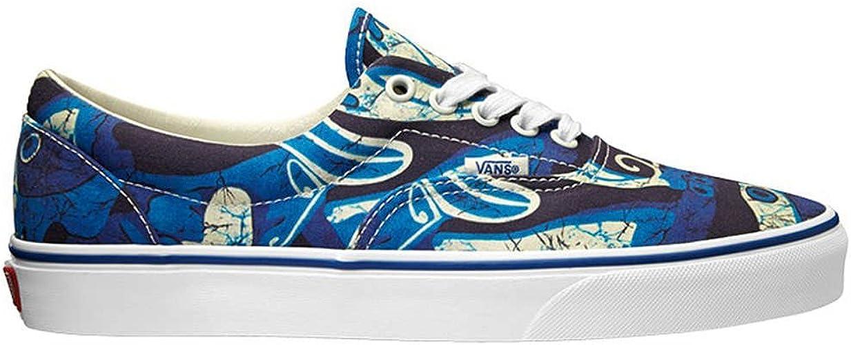 Vans Era Doren Blue Print Sneakers Low