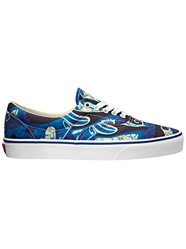 fc79e808d4fb06 Image Unavailable. Image not available for. Color  Vans Unisex Era Van  Doren Blue Print Sneakers Low Top Skate Shoes ...