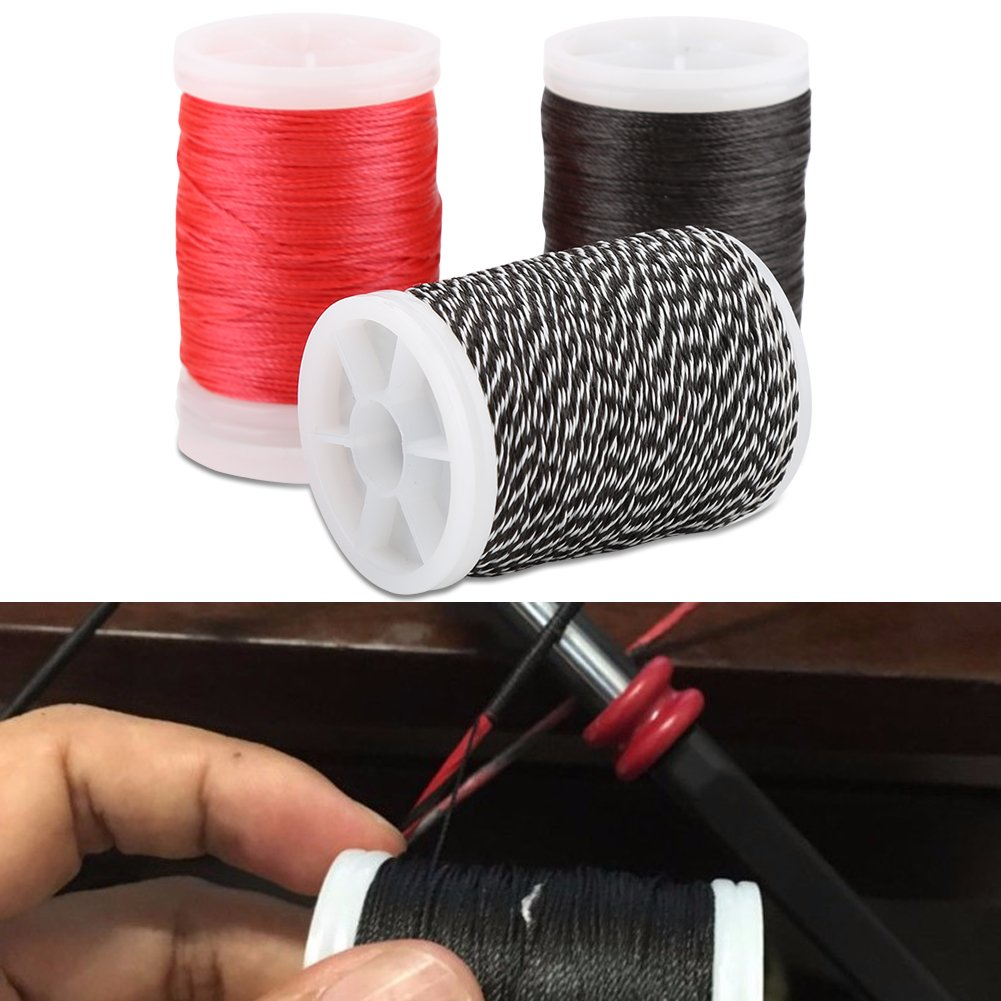 Nylon Fiber Spool Bow String Protective for Various Bows Dilwe Bow String Serving Thread