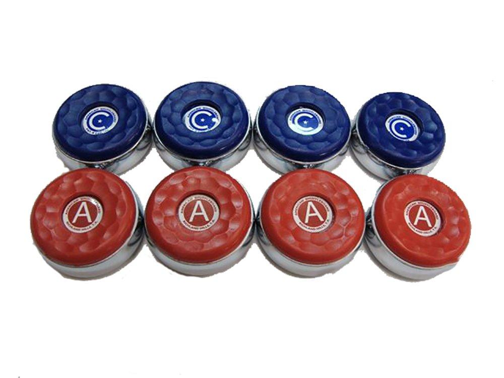 8 American Shuffleboard Pucks - 2-1/8''