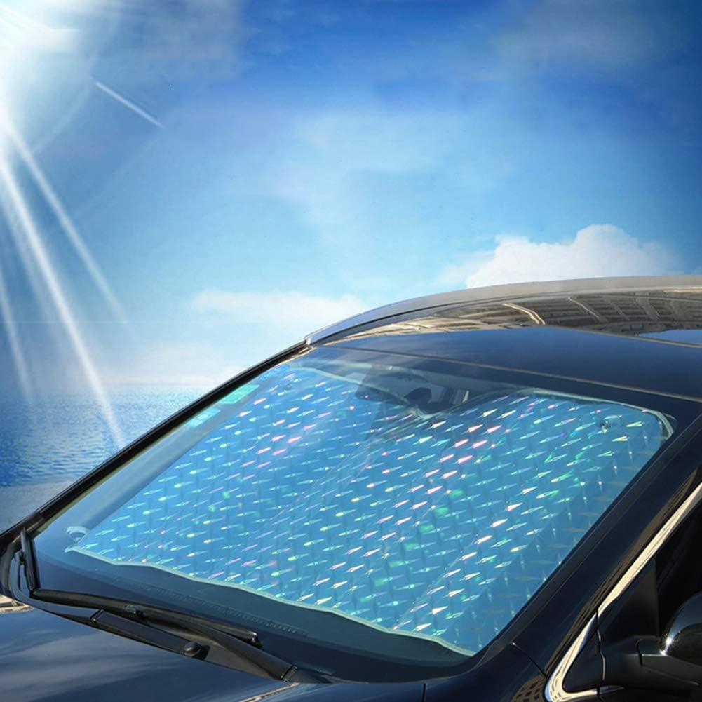 flojable Parasol protector de parabrisas delantero para coche grueso anti-UV 130 x 70 cm medium 140x75cm resistente al agua antipolvo Bloqueo de calor