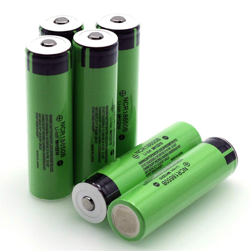 Ocamo Practical Rechargeable Lithium Battery with Pointed for 18650 3.7V 3400mAh NCR 18650B Spare Parts 1pcs