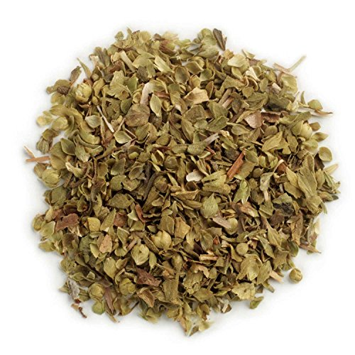 Mediterranean Herb - Frontier Co-op Organic Mediterranean Oregano Leaf, Cut & Sifted, Fancy Grade, 1 Pound Bulk Bag