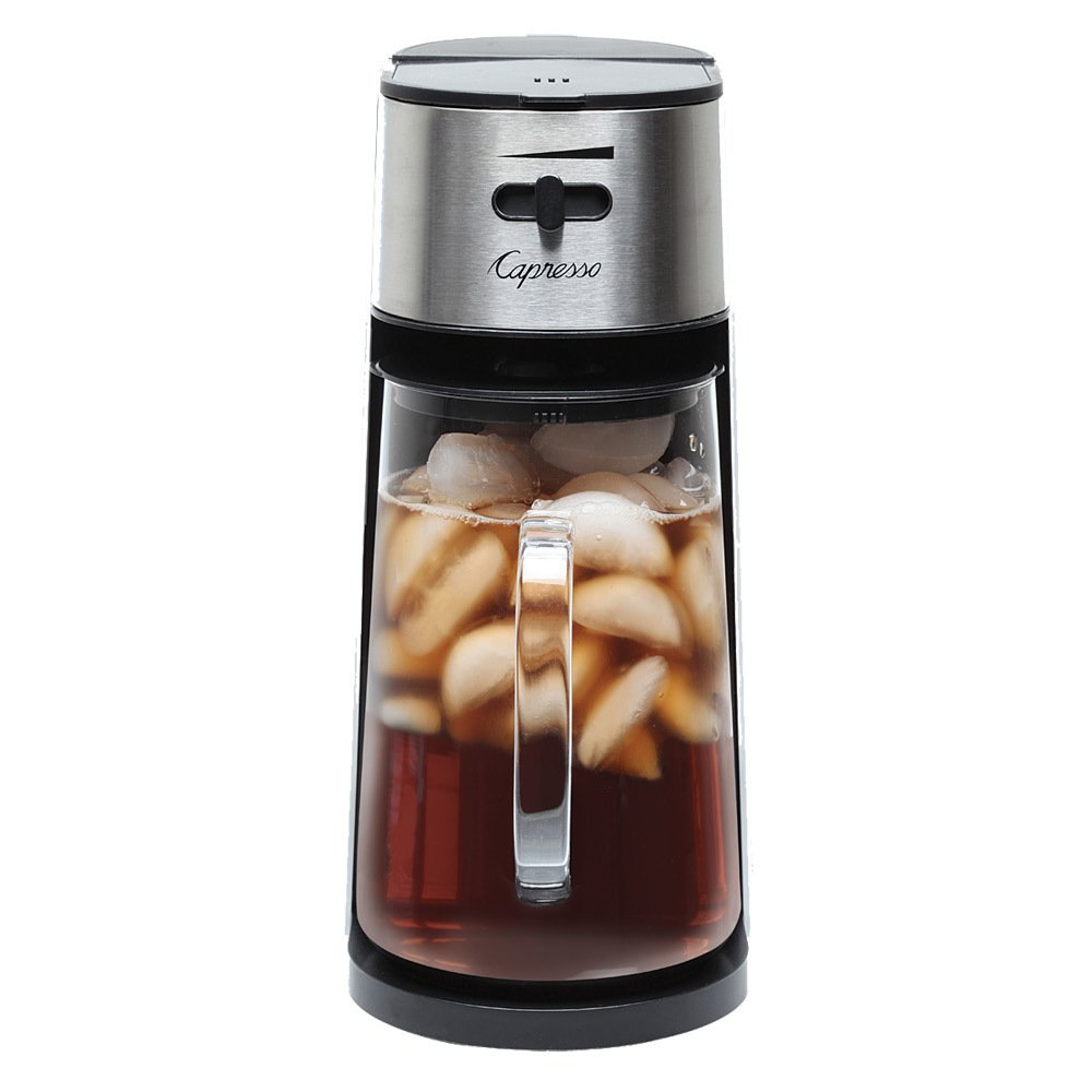 Capresso Iced Tea Maker with 80oz Glass Carafe and Removable Water Tank (Renewed)