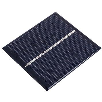 Haihuic Panel Solar Epoxi 3V 150mA 0.45W Célula Solar ...