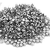 FACILLA® Lots Silver Round Studs Spots Punk Nailhead Spikes for Bag Shoes Bracelet 0.16""